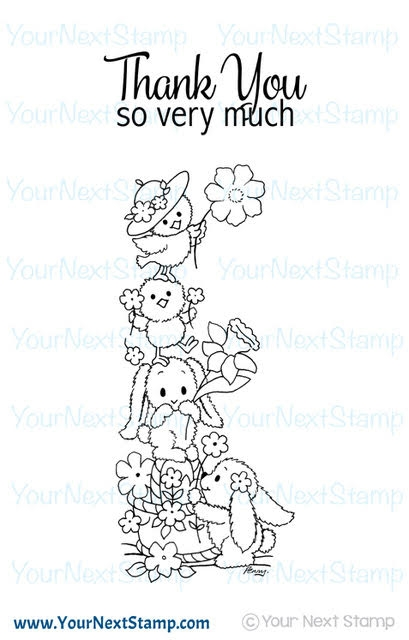 Your Next Stamp A CUTE STACK Clear CYNS537 zoom image