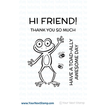 Your Next Stamp FROGGIE FRIEND Clear Stamp CYNS552