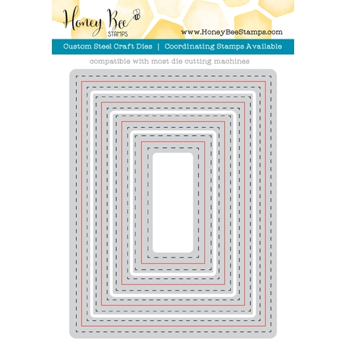 Honey Bee A2 DOUBLE STITCHED FRAMES Dies HBDSA2 at Simon Says STAMP!