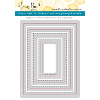 Honey Bee A2 DOUBLE STITCHED FRAMES Dies HBDSA2