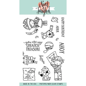 Neat and Tangled YO HO HO Clear Stamp Set