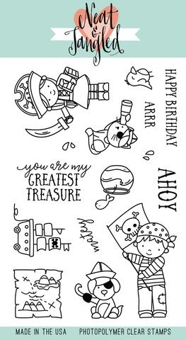Neat and Tangled YO HO HO Clear Stamp Set  zoom image