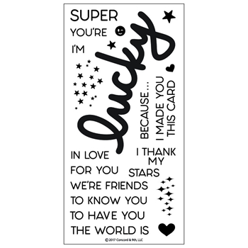 Concord & 9th LUCKY Clear Stamp Set 10180C9