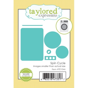 Taylored Expressions SPIN CYCLE Die Set TE1046