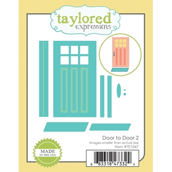 Taylored Expressions DOOR TO DOOR 2 Die Set TE1047