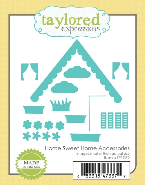 Taylored Expressions HOME SWEET HOME ACCESSORIES Die Set TE1052 zoom image
