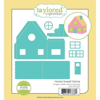 Taylored Expressions HOME SWEET HOME Die Set TE1051