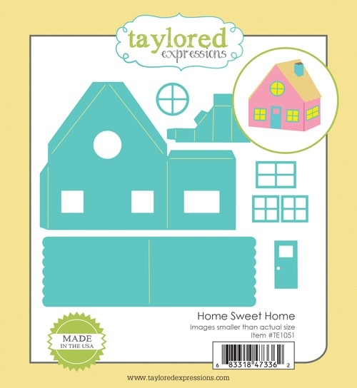 Taylored Expressions HOME SWEET HOME Die Set TE1051 zoom image
