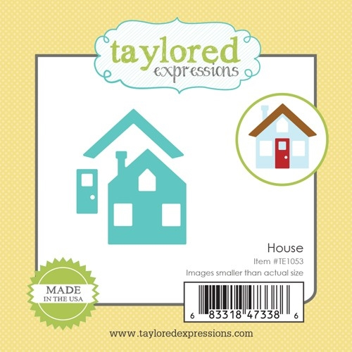 Taylored Expressions Little Bits HOUSE Die Set TE1053 Preview Image