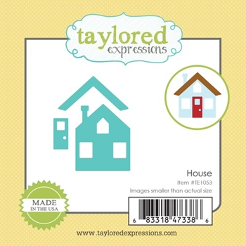 Taylored Expressions Little Bits HOUSE Die Set TE1053