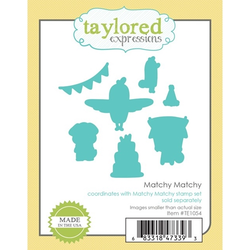Taylored Expressions MATCHY MATCHY DIE Set TE1054 Preview Image