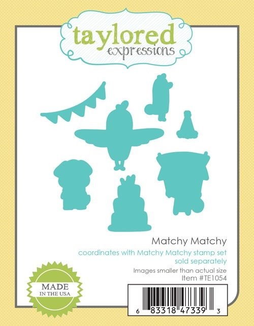 Taylored Expressions MATCHY MATCHY DIE Set TE1054 zoom image