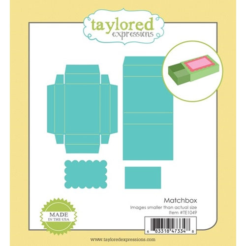 Taylored Expressions MATCHBOX Die Set TE1049 Preview Image