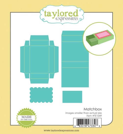 Taylored Expressions MATCHBOX Die Set TE1049 zoom image