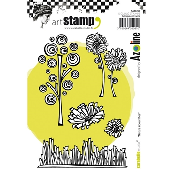 Carabelle Studio NATURE EBOURIFFEE Cling Stamp SA60269