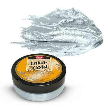 Viva Decor ICE BLUE Inka Gold Beeswax Polish 2.2oz 612474