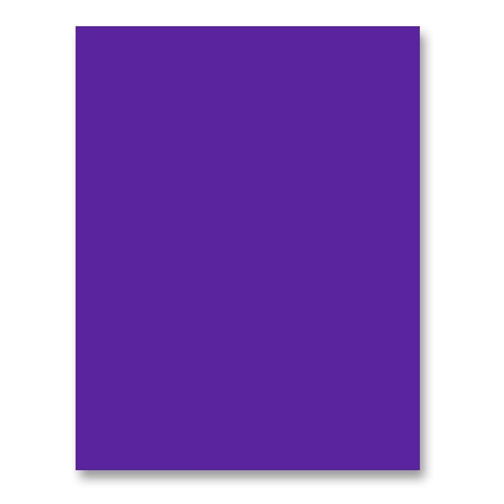 Simon's Exclusive Royal Purple Card Stock