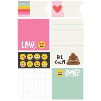 Simple Stories EMOJI LOVE Sticky Notes 8030