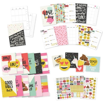Simple Stories EMOJI LOVE A5 Planner Inserts 8026