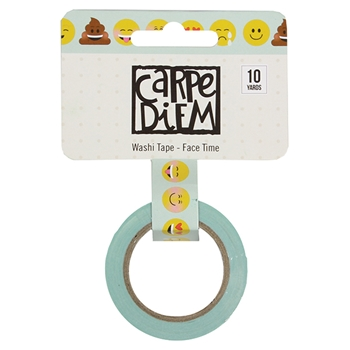 Simple Stories FACE TIME Emoji Love Washi Tape 8029