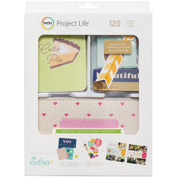 Becky HIggins American Crafts Project Life GARDEN PARTY Value Kit 380679