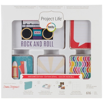 Becky Higgins American Crafts Project Life AWESOME Edition Core Kit 380800