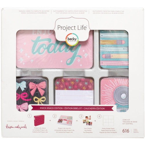 Becky Higgins American Crafts Project Life KNICK KNACK Edition Core Kit 380677 Preview Image