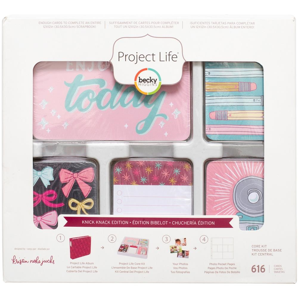 Becky Higgins American Crafts Project Life KNICK KNACK Edition Core Kit 380677 zoom image