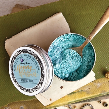 Prima Marketing MARQUISE BLUE Memory Hardware Artisan Powder 992927