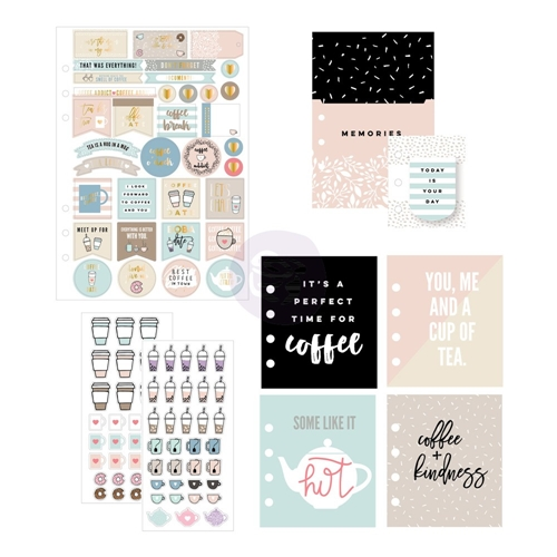 Prima Marketing COFFEE AND TEA LOVERS Goodie Pack My Prima Planner 592240 Preview Image