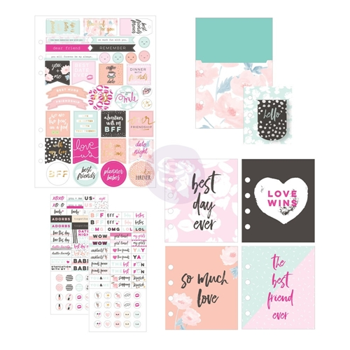 Prima Marketing FRIENDSHIP AND LOVE Goodie Pack My Prima Planner 592257 Preview Image