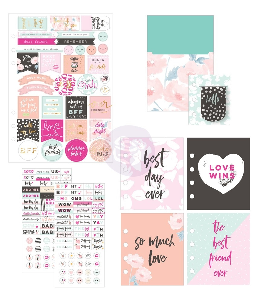 Prima Marketing FRIENDSHIP AND LOVE Goodie Pack My Prima Planner 592257 zoom image