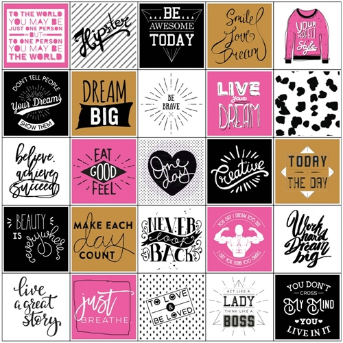 Prima Marketing BEAUTY FASHION Stickers My Prima Planner 593537 Preview Image