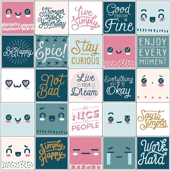 Prima Marketing INSPIRATIONAL Stickers My Prima Planner 593575