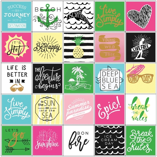 Prima Marketing SUMMER Stickers My Prima Planner 593582 Preview Image