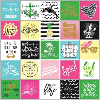 Prima Marketing SUMMER Stickers My Prima Planner 593582