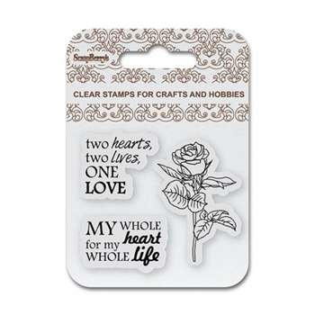 ScrapBerry's ONE LOVE Clear Stamp SCB4907081