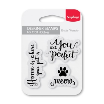 ScrapBerry's MEOW My Little Star Clear Stamp SCB4907121