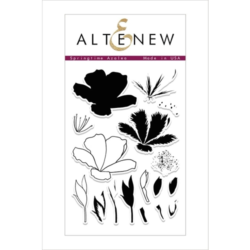 Altenew Springtime Azeleas Clear Stamp Set