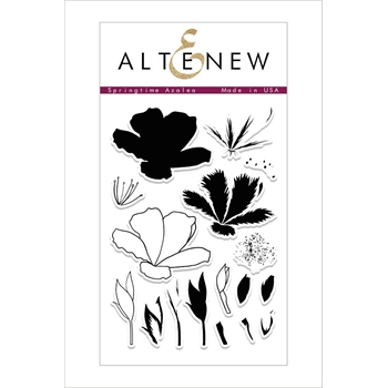 Altenew SPRINGTIME AZALEA Clear Stamp Set