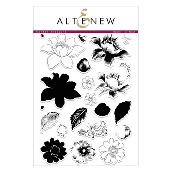 Altenew GARDEN TREASURE Clear Stamp Set