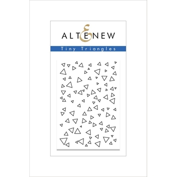 RESERVE Altenew TINY TRIANGLES Clear Stamp Set