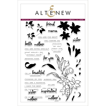 Altenew EXTRA SPECIAL Clear Stamp Set