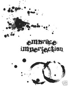Tim Holtz Cling Rubber Stamps SPILLS & SPLATTERS And Stampers Anonymous CMS028 Preview Image