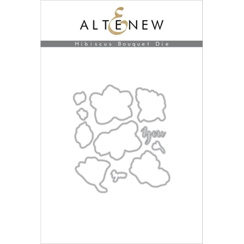Altenew HIBISCUS BOUQUET DIE Set