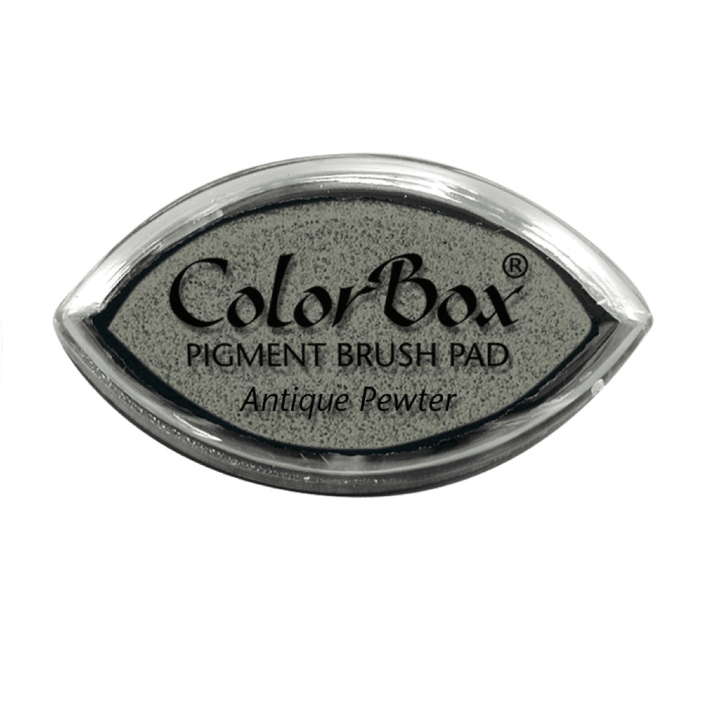 Clearsnap Colorbox ANTIQUE PEWTER Cat's Eye Ink Pad 110683 zoom image