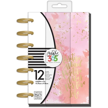 Me And My Big Ideas LIVE LOUD Mini 12 Month Undated Planner Create 365 PLNM22