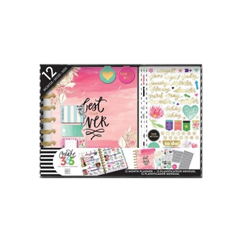 Me And My Big Ideas BEST YEAR Classic 12 Month Undated Planner Box Kit Create 365 BOX109
