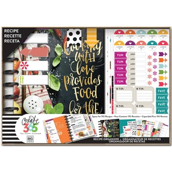 Me And My Big Ideas COOKING Classic Planner Box Kit Create 365 BOX122