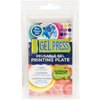 Gel Press 3 x 5 REUSABLE GEL PRINTING PLATE 10808